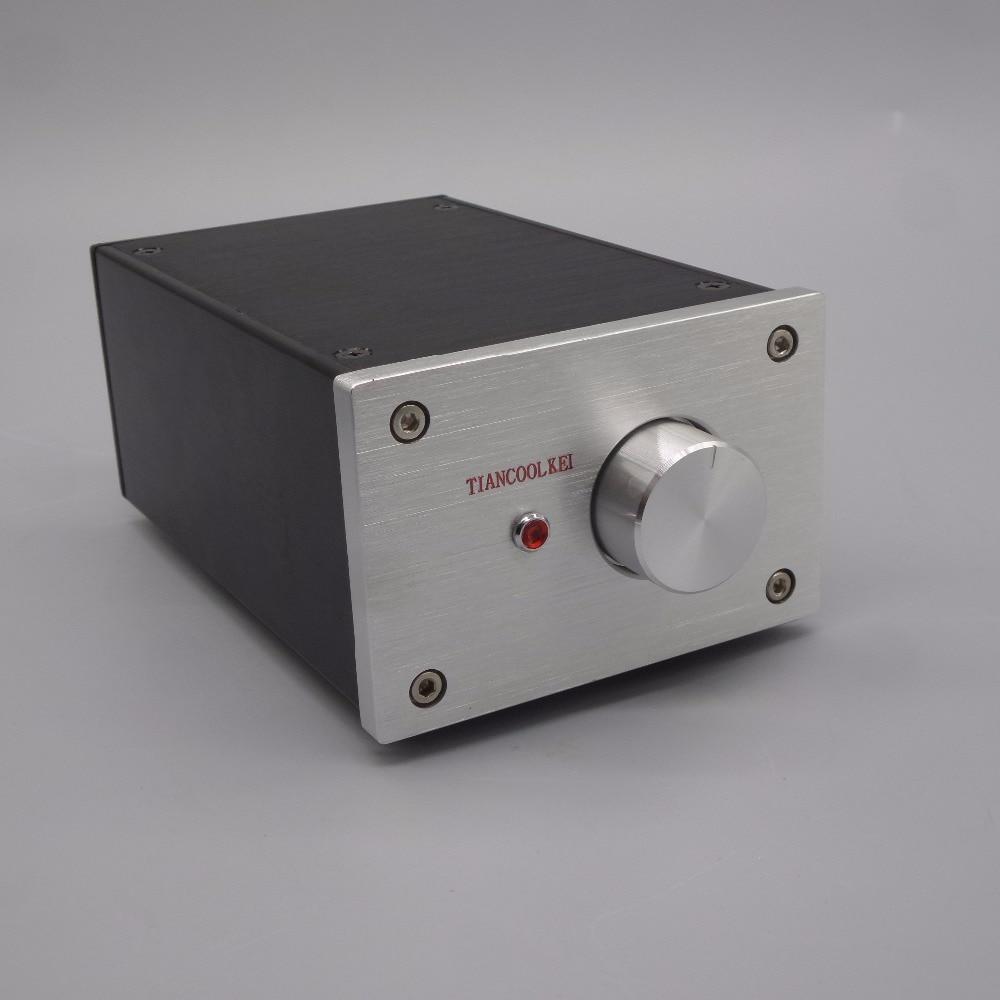 X10-D47 6J1 tube headphone amplifier and audio signal buffer preamplifier one machine 6J1+47 headphone amp tiancoolkei x 10d 2 0 original circuit hifi 6n11 tube buffer audio signal tube preamplifier for pure post amplifier