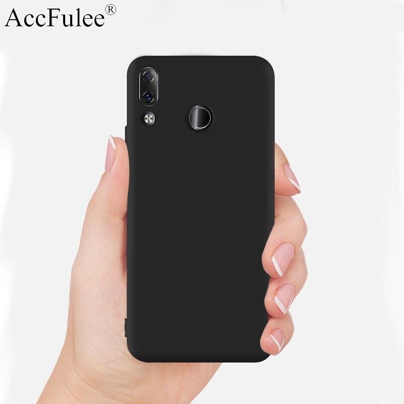 MoEx Housse de t/él/éphone Compatible Huawei P30 Lite Passant pour Ceinture//Attache Noir