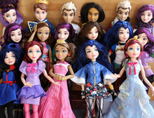 11'' Original Descendants girl doll multi joint Princess Toys  Mermaid Snow White Rapunzel Cinderella