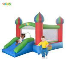 YARD Bouncy Castle Inflatable Bouncer Home Use Bounce House With Blower
