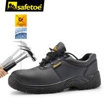 safetoe Safety Shoes Work Boots Men Steel Toe Cap Water Resistant Hiking UK Size 3-13 Anti-Smashing Anti-Puncture S3 SRC