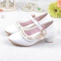 ربيع الفتيات الرقص الأميرة واحدة أحذية صيف جديد الكعوب ألوان الزجاج النعال والاحذية سنوات بنات الحزب من 3 إلى 12