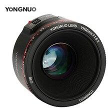 Objectif de caméra à effet Bokeh à grande ouverture YONGNUO YN50mm F1.8 II F1.8 pour Canon EOS 700D 750D 5D 600D DSLR