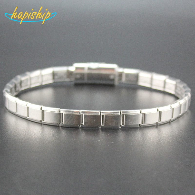Hapiship Charms 9mm Width Fashion Man/Womens Jewelry Stainless Steel Sports Necklace Wish For Friend Birthday Wife Gift XL001