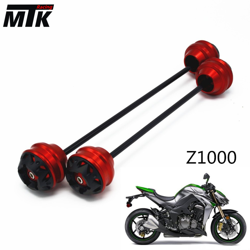 MTKRACING Free delivery for KAWASAKI Z1000 2003-2015 CNC Modified+Motorcycle Front wheel drop ball / shock absorber motorcycle cnc front