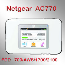 Unlock band 4 AWS netgear Wireless Aircard 770S 4G LTE 3g Mobile WiFi Hotspot lte modem wifi 4g router with sim card slot(China)