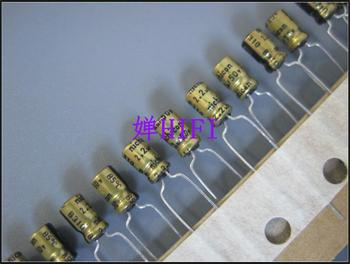 цена на 2019 hot sale 20PCS/50PCS Nichicon original Japanese electrolytic capacitor 50v2.2uf 4x7 free shipping