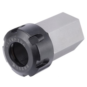Image 4 - Hard Steel ER 25 Hex Collet Block Spring Chuck Collet Holder 35x65mm For 60/90/120 Degrees Engrave Machine