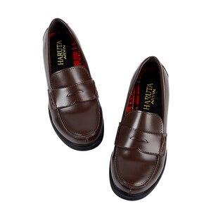 Image 2 - 2019 새로운 일본식 대학생 신발 코스프레 로리타 신발 여자/여자 패션 블랙/커피 플랫폼 신발 크기 35 40