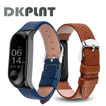 Colorful Leather Black Rose Gold Case for Xiaomi MiBand 6 4 5 strap For xiaomi mi band 5 4 3 6 bracelet strap Smart Watch band 2