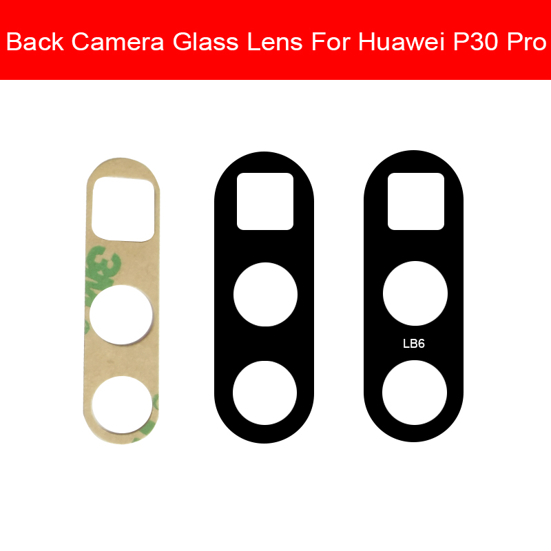 Rear Camera Glass Lens For Huwei P30 Pro P30pro VOG-AL00 VOG-AL10  Back Camera Glass Lens Big Camera Housing Cover Repair Part