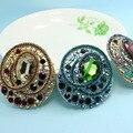 Grande Marca Perfecto Broch Cristal Austríaco Colar Mulheres Moda Jóias Brilhante Champanhe Vintage Broches Acessórios Jogo de Relogio