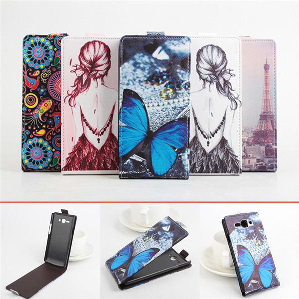 5 Pattern Painted Case Cover For Philips S388 Case, Luxury Magnetic Flip Leather Case For Philips S388 Cover Skin Shell Capa