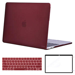 Image 2 - MOSISO Crystal\Matte Laptop Case For Apple Macbook New Pro 13 15 With Touch Bar Shell Case for Mac Pro13 15 inch Cover 2016 2018