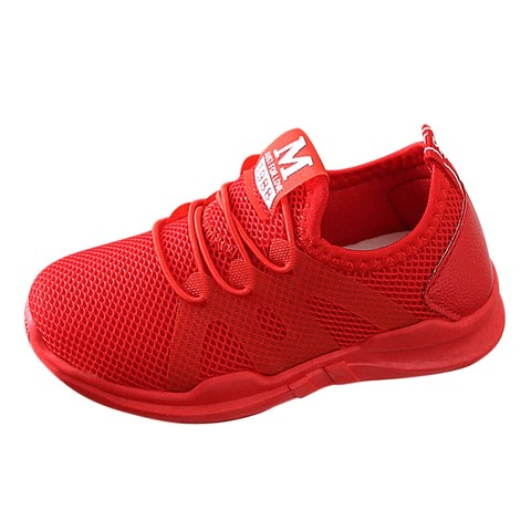 Children Infant Kids Baby Girls Boys Letter Mesh Sport Run Sneakers Casual Shoes New arrival 2019 Lahore