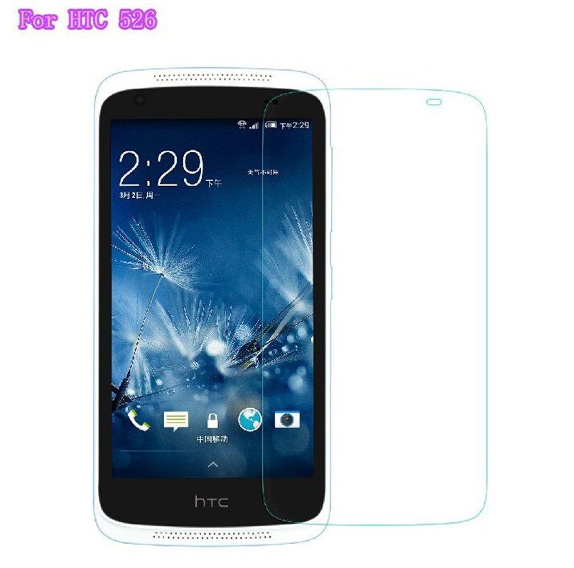Premium Tempered Glass For HTC Desire 526 526G D526 Dual SIM Screen Protector 9H Toughened Protective Film Guard