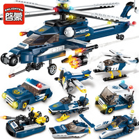 Enlighten Models Building Toy Compatible With Lego E1801 381pcs 8 In 1 Blocks Toys Hobbies For
