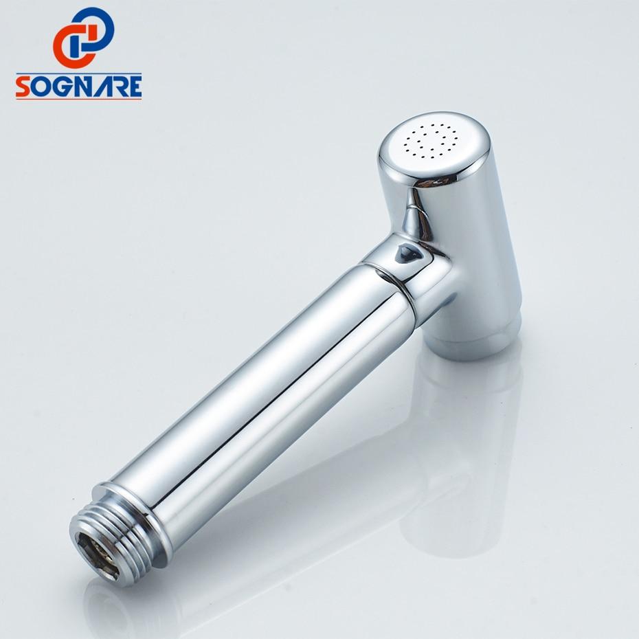 SOGNARE Modern Style Hand held Bidet Spray Copper Shower Head Spray ...