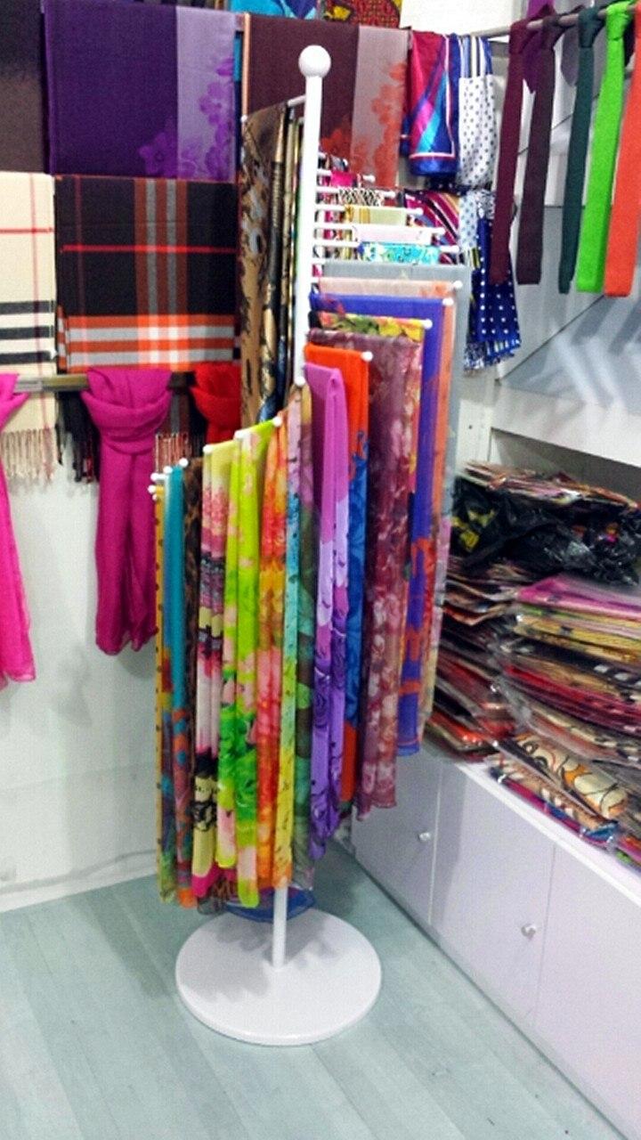 Fer forgé porte serviettes étagère foulards écharpe rack tie rack de ...