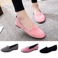 Women Ladies Slip On Flat Round Toe Shallow Shoes Sandals Casual Shoes shoes woman sandals women rhinestones chains flat