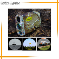 Camouflage 6x Waterproof Golf Laser Rangefinders Laser Speed Distance Meter Rangefinder 1000M Range Finder For Hunting
