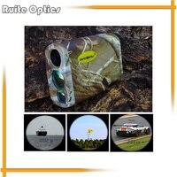Camouflage 6x Waterproof Golf Laser Rangefinders Laser Speed Distance Meter Rangefinder 1000M Range Finder For Hunting
