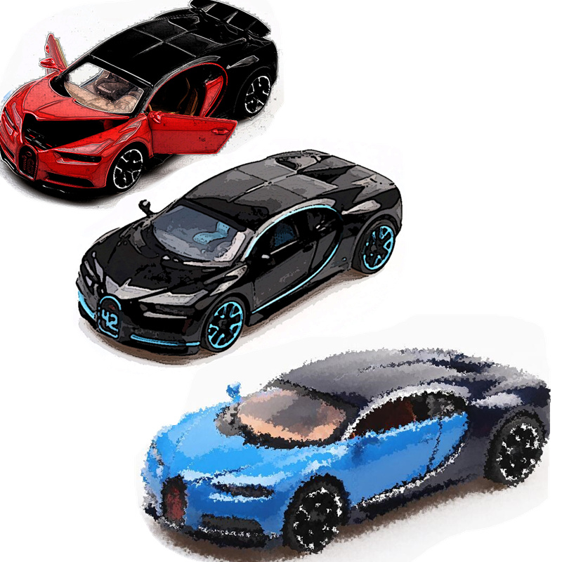 Voiture de course Technique Série Bleu Bugattié Chiron blocs de construction Compatible Legoing Technique Super Vyreoned jouet voiture Pour Ami Enfants