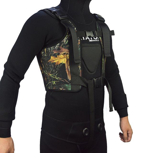 Layatone Weight Vest 3mm Neoprene Wetsuit Tank Top Adjustable Diving Spearfishing Vest for Men J1603