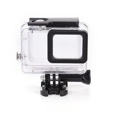 Для GoPro Водонепроницаемый Корпус Дело крепление для Hero 5 Водонепроницаемый 45 м Интимные Аксессуары JX Камера монтажа