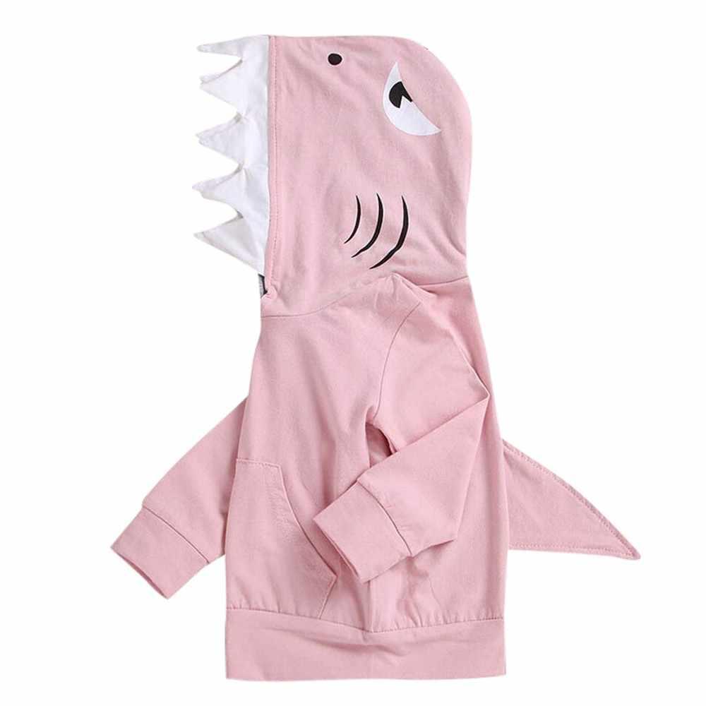 Топ с капюшоном и длинными рукавами для маленьких мальчиков и девочек