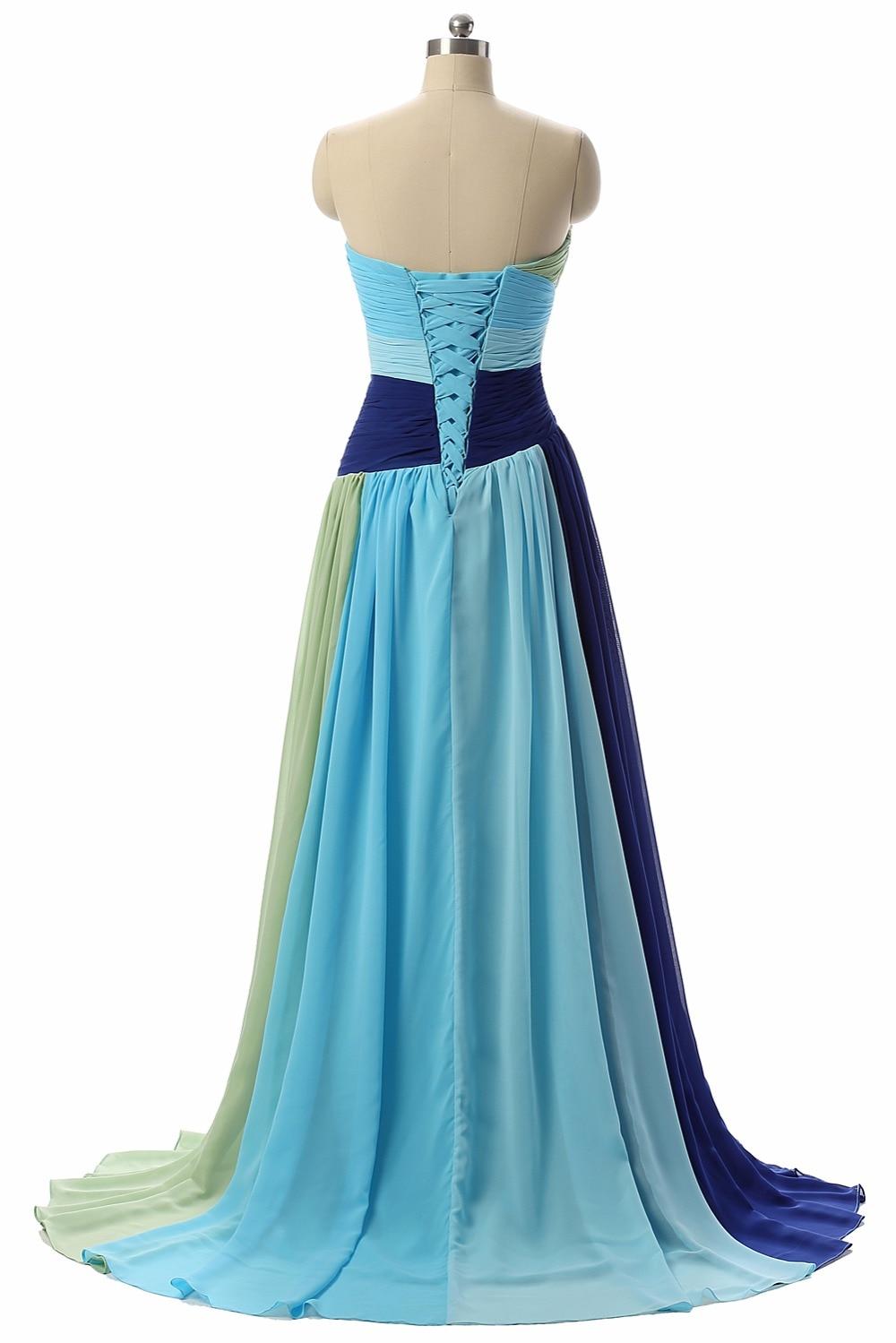 Robe De Soiree Longue Simple Prom Dresses Long 2017 Sweetheart ...