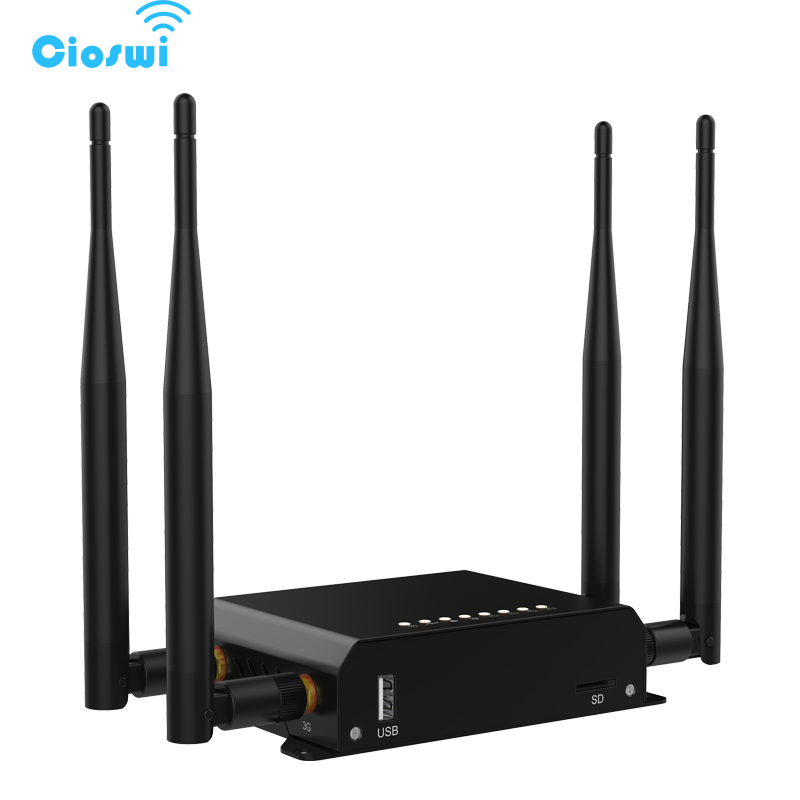 MT7620A Chipset 2.4Ghz 300Mbps OpenWRT Wireless WiFi Router With PCI E Slot Support 3G and 4G Module-in Wireless Routers from Computer & Office