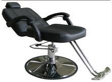 Barber chair hairdressing chair. Cut hair salon chair swivel chair. Tattoo head treatment chair