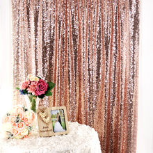 Hot 1 pcs Sequin Pano De Fundo Cenários de Fotografia Backdrops Wedding Photo Booth Painéis de Cortinas De Lantejoulas Cortina De Lantejoulas Party Decor(China)