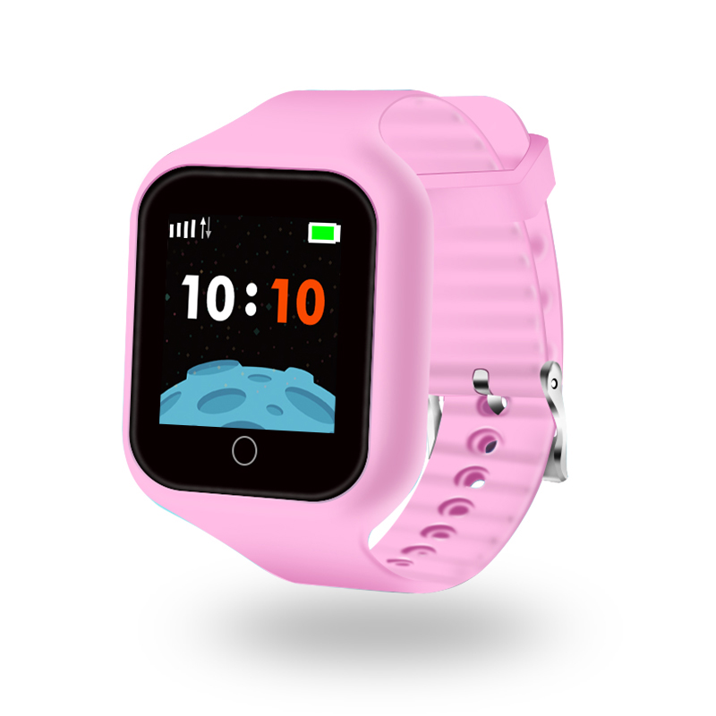 ZGPAX S66 New GPS Smart Watch for Kids Remote Voice Monitoring Real time Chat Global Tracking On line Camera Changeable Band SOS - 2