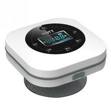 Mini Bluetooth bezprzewodowy wodoodporny prysznic głośnik z przyssawką Bluetooth muzyka stereo Box Radio FM