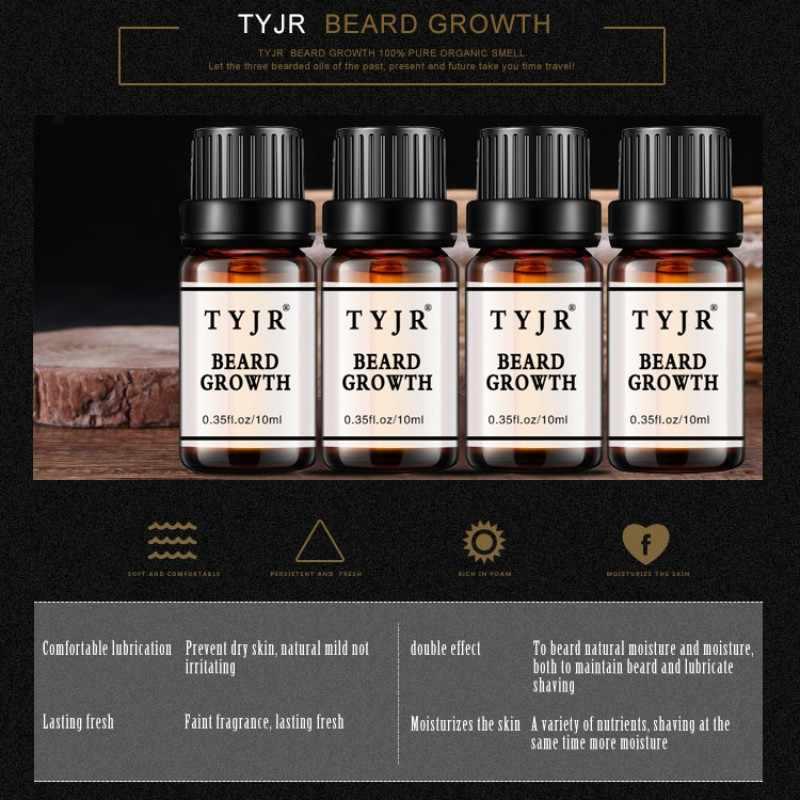 Beards hair Thicker Essence Mustache Thick sideburn Treatment Sunburst  alopecia Serum Product beard shaping Beard Growth oil