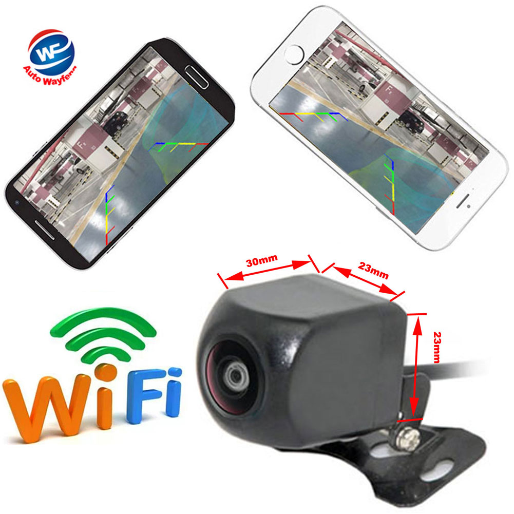WIFI Reversing Camera Dash Cam Star Night Vision Car Rear View Camera Mini Body Waterproof Tachograph For IPhone And Android