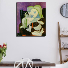 Pablo Picasso Mother And Child Marie Therese Maya Art Canvas Poster Painting Wall Picture Print Home Bedroom Decoration Artwork