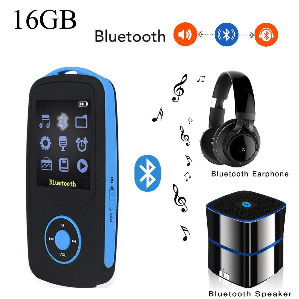 Оригинальный ruizu X06 MP3-плееры Bluetooth 16 ГБ музыкальный плеер Радом играть FM Реги ...