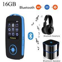 Оригинальный ruizu X06 MP3 плеер Bluetooth 16 ГБ музыкальный плеер Радом играть FM рекордер 1.8 дюймовый экран без потерь музыкальных плееров рождественский