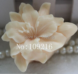 Wholesale 1pcs small lily zx0096 silicone handmade soap mold crafts diy mould.jpg 250x250