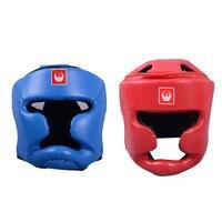 2017 Hight Qualidade Esporte Capacete Protetor de Cabeça all-around proteção para MMA/Boxe/Muay Thai 2 cores capacete boxe