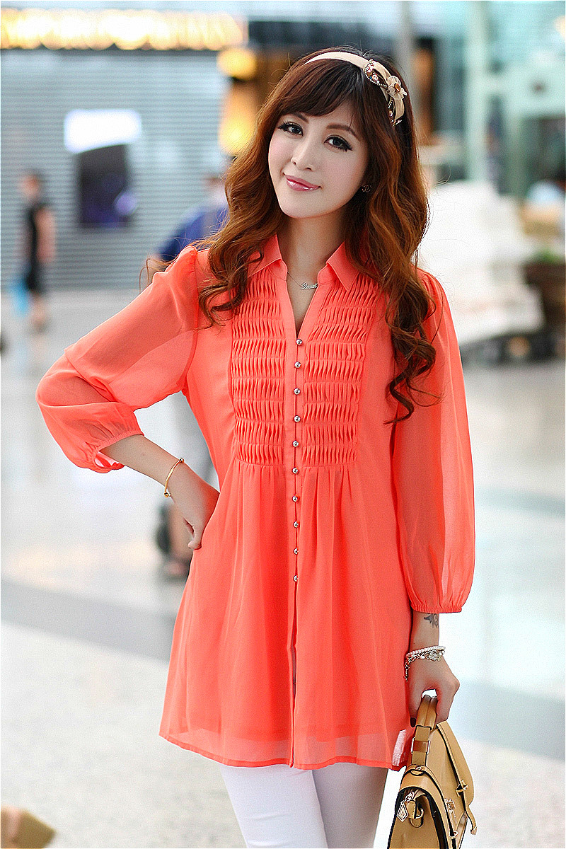 Online Buy Wholesale long tunic tops from China long tunic tops ...