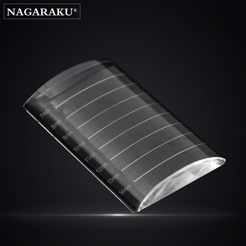 NAGARAKU Eyelash Extension Crystal Measure Pads  Crystal Individual Eyelash Adhesive Stand False Eyelash Extension amplification