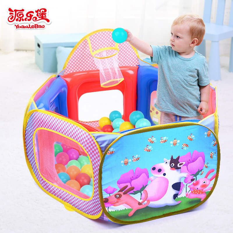 Yuanlebao Newborn Baby Game Pad Play House Toys For Family Ocean Children Kids Gift Ball Pool baby toys wooden geometric blocks kids balancing game toy children learning educational toys for children family game gift toys
