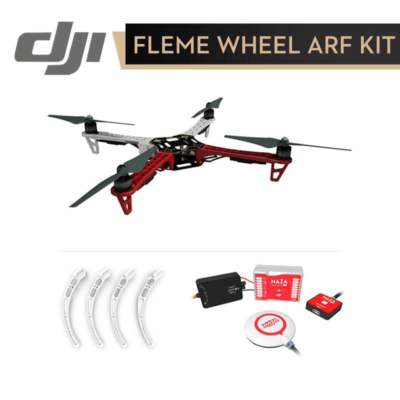 DJI F450 ARF KIT Quadcopter Rack Flame Wheel + Landing Gear + Naza M Lite ( with GPS ) Flight Controller Original f450 450mm pcb version quadcopter rack frame kit naza m lite flight controller board