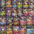 100 шт. Все Мега Блестящие Нет повторите Ex 80 EX Обычных Карт + 20 МЕГА Сильные Карты Японии Charizard Cartes
