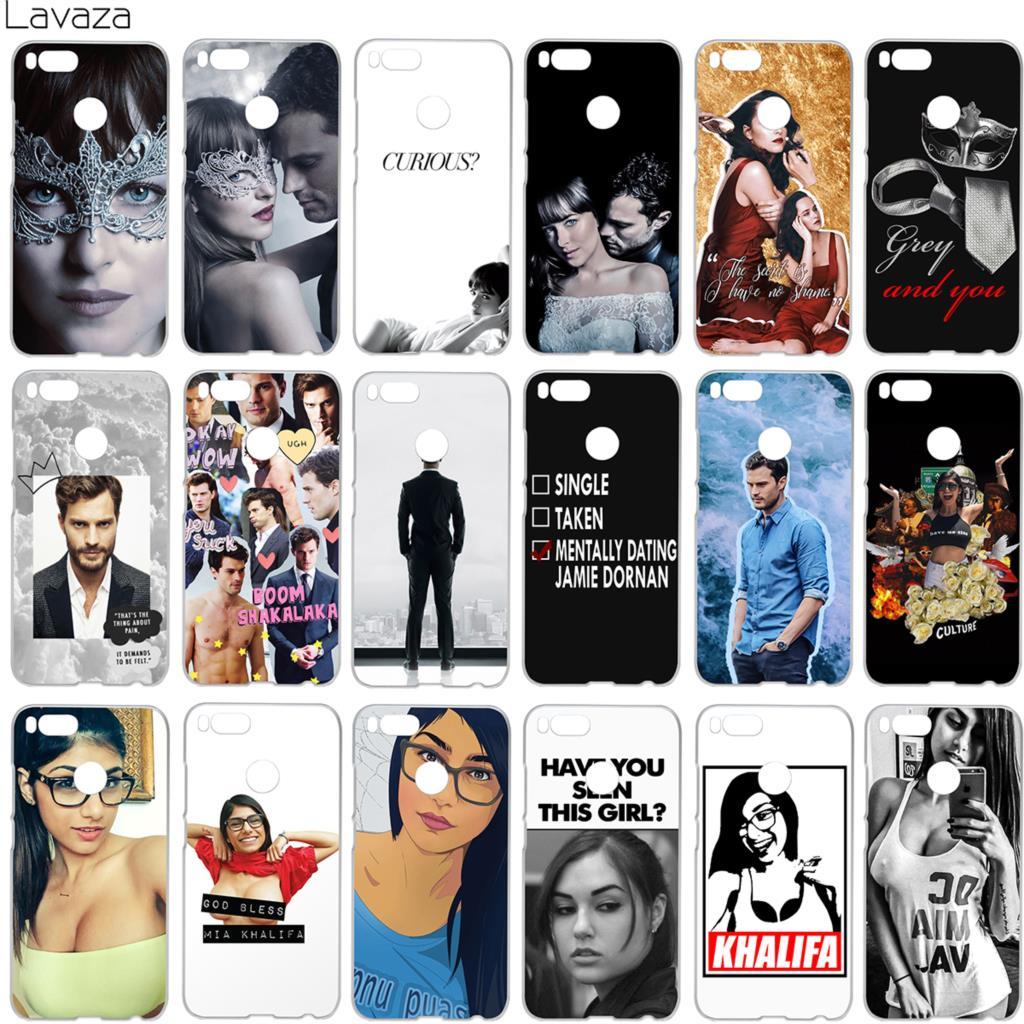 Lavaza Dakota Johnson Jamie Dornan Mia Khalifa Case for Xiaomi Redmi Note 4 4x 4a mi a1 8 6 se mi8 mi6 Pro