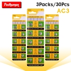 30x AG3 Long Lasting 1.55v Toy Electronic 392 392A LR41 L736 LR736 SR41 SR41SW Button Coin Cell Scale Watch Battery 192 384